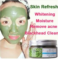 Face Care Skin Refresh  Mung Bean seaweed face mask shrink pore whitening moisturizing acne remove man women facial mask 110g