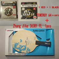 Butterfly Zhang Jike  Shakehand TABLE TENNIS RACKET 36381 + TENERGY 05FX + 64 RUBBERS (2pcs), Table Tennis blade