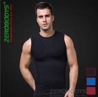 zerobodys Men tank top bodybuilding Moisture absorption perspiration quick drying fabric Sleeveless seamless technology training