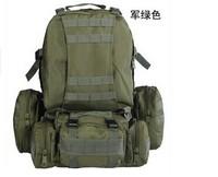 Outdoor Tactical Backpack combination camouflage bag shoulder bag hiking bag sports backpack