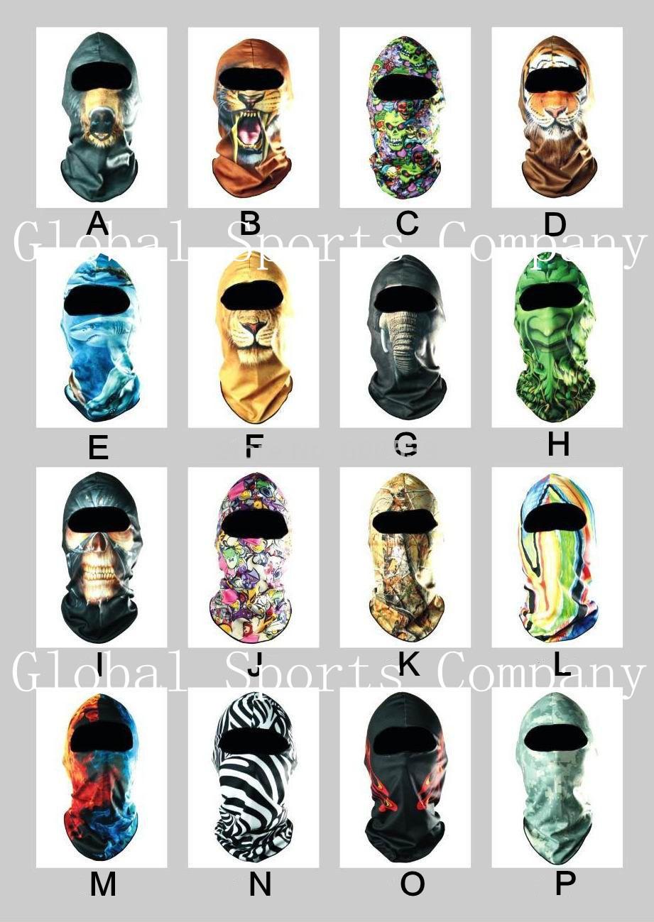 Cheapest Sports Ski Motorcycle Biker Motorbike Neck Warmer Helmet Hood Hat Headwear Full Face Mask Balaclava Headscarf Headgear(China (Mainland))