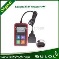 Car Diagnotic Scanner Launch X431 original Multi-function Launch Creader IV+ update online,x-431 4 plus obd2 code reader
