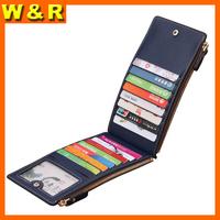 man wallet with 15 card slots long zipper man purse fashion designer wallet for gentleman card holder wallet