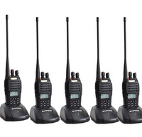 5pcs Baofeng UV-B5 handy interphone UHF+VHF dual band 5W 99CH