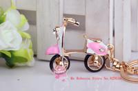 Sports and leisure fashion keychain car battery  Bag pendant cute female model cars  Male car key ring