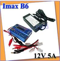 IMAX B6 Digital RC Lipo NiMh Battery Balance Charger+AC POWER 12v 5A Adapter +free shipping