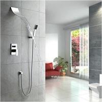 Contemporary Shower Set Wall Mounted Waterfall Bathtub Faucet Brass Mixer Waterfall Faucet Bath Tap L-0139