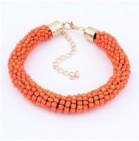 YXSP4527     2014 new fashion  Fashion multicolor beads hand cylinder   Bracelets for women