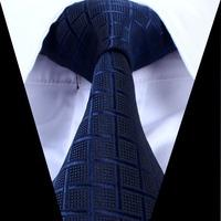 high quality Men 960-pin Classic Striped Jacquard Woven Gentlemen Necktie Tie 100% Silk 759