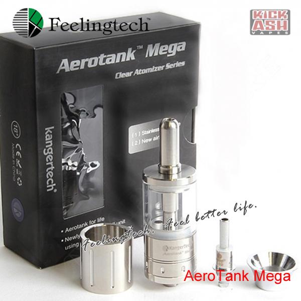 Aerotank Mega Airflow control valve aerotank mega pyrex glass tube stainless tube mega aerotank Hot selling!! (1*AeroTank Mega )(China (Mainland))