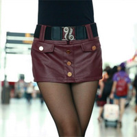 Hot sale New 2014 autumn winter women PU leather shorts fashion wild Slim sexy Straight short women atacado roupas femininas0287