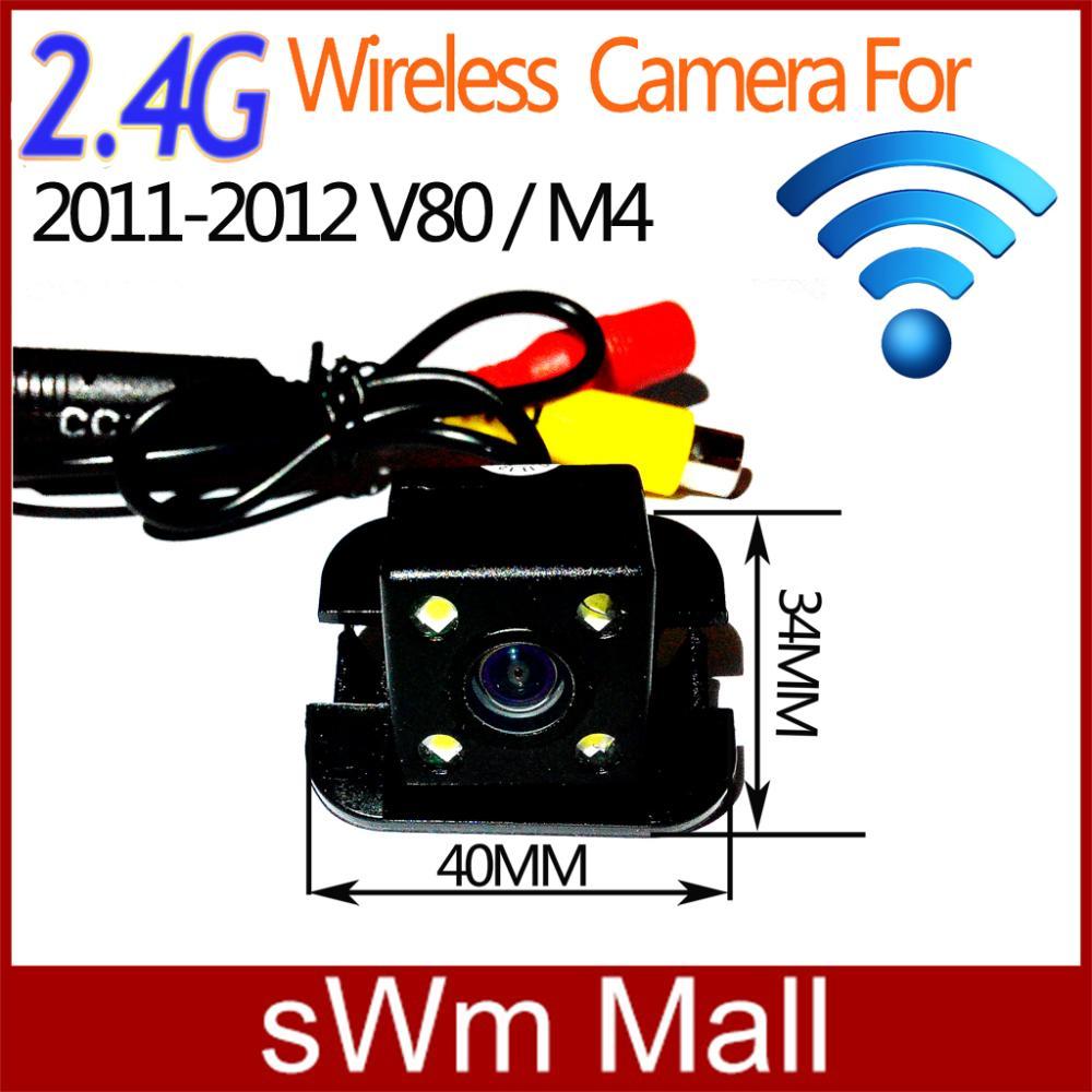 DHL-DM Ship CCD HD night vision car rear view backup camera for GREATWALL V80 M4 2011 -2012 With LED camera(China (Mainland))