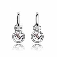 2014 jewelry brinco brincos grandes earrings female elegant lovely small ears accessories austria crystal anti-allergic