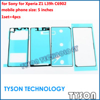 Adhesive Sticker for Sony for Xperia Z1 L39h C6902 Back Pannel Battery LCD Plate Housing Adhesive Sticker Free Shipping