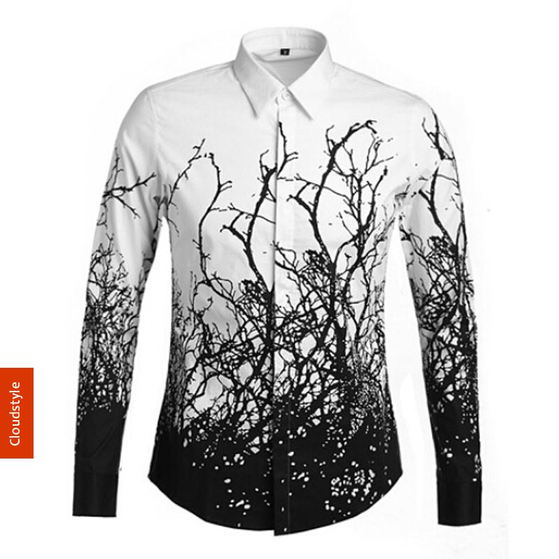 Mens Printed Long Sleeve Shirts | Artee Shirt
