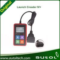 Original Launch X431 Creader 4+ Code Reader IV Plus OBDII Car Scanner