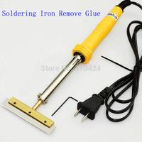 LOCA Glue Clean Tool 60W 80mm Soldering iron with T-Type Solder Iron Tip Blade Glue Remove LCD Screen Separator Repair Machine