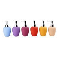 Modern Colorful Ceraic Hand Washing Liquid Bottle, Soap Dispenser