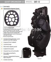 2014 fashion men's ball bags The Arlington multi-function golf bag, porous ball bag, protect fixation cue, limited golf bag
