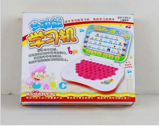 New Hot Preschool children Mier ultra-versatile computer learning English reading machine(China (Mainland))