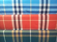 Pf19 winter sanding Cotton Plaid fabric cloth textile tartan blue red color retail or wholesale