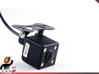 After about 120 degrees Night Vision 4 LED lights Car Reverse Backup Color Camera View Details