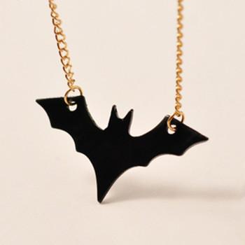 European and American Jewelry Bat Necklace Batman Dark Knight Rises Sweater Chain