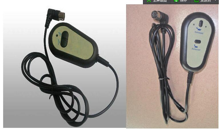 Alta quatily cadeira reclinável elétrica rodada 2 botão 8 pino reclinável Handset v em forma(China (Mainland))