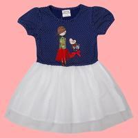 FREE SHIPPING H4812# new fashion nova beautiful baby girls flower hot summer party dress for baby girls