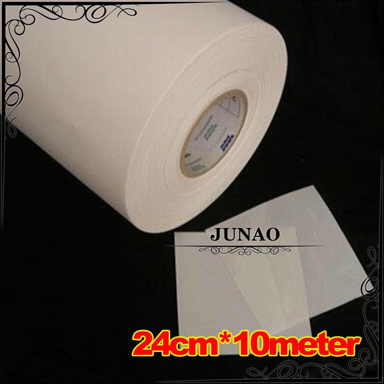 24cm*10m Hotfix Rhinestone Mylar Tape Paper Hot Fix Crystals Paper Heat Transfer Film DIY Tools(China (Mainland))