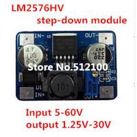 5pcs LM2576HV 5-60V to 1.25V-30V DC-DC Step Down Adjustable Power Supply Module