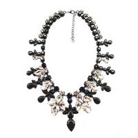 2014 fashion women necklace J C Europe costume black pendant Necklaces statement jewelry X302