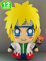 """Free Shipping Japanese Anime Cartoon Naruto Namikaze Minato Plush Toy Plush Doll Figure Toy 12"""" Chritmas Brithday Gift"""