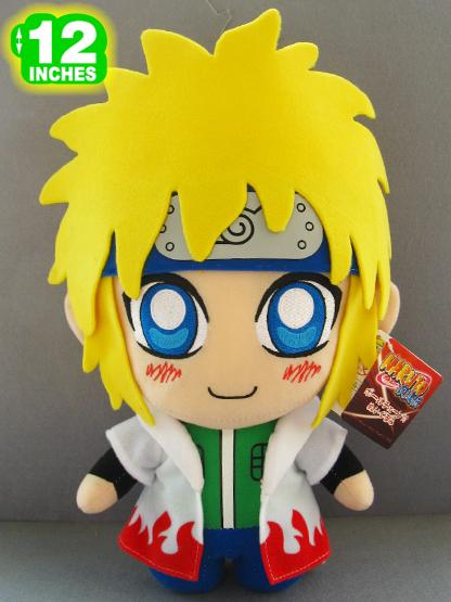 "Free Shipping Japanese Anime Cartoon Naruto Namikaze Minato Plush Toy Plush Doll Figure Toy 12"" Chritmas Brithday Gift(China (Mainland))"