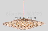 Fashion lamp David Trubridge design  bamboo  Kina  pendant light one piece  ( dia 450mm*H125mm)