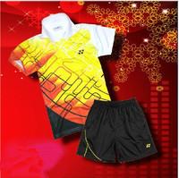 Wholesale!free shipping 2014 NEW YONEXX 1set Child boy and girl Badminton / chirdren Table tennis Shirt +shorts