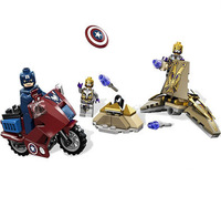 Super heroes series Captain America Revenge War Scenes Minifigures Model Building Blocks Sets Toys Figure Bricks lego compatible