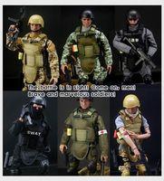 """1Set 12"""" 1/6 Soldier Uniform Action Figure Model Military Combat Suit Retail Box1Set 12"""" 1/6 Soldier Uniform Action"""