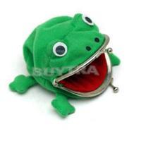 2014 New Novetly Casual Convenient Women Bags/Cute Frog Shape Wallet for Women/Desiner Mini Women Girl Coin Purse