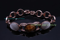 Limited Edition 18K Rose Gold Plated Viennois Opal Bracelet Best Gift For Women Free Shipping