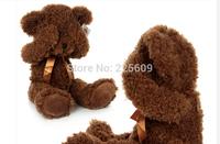 Freeshipping sitting height50cm footprints shy bear Teddy bear plush toy bear authentic baby doll A birthday present