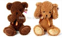 Freeshipping sitting height55cm footprints shy bear Teddy bear plush toy bear authentic baby doll A birthday present