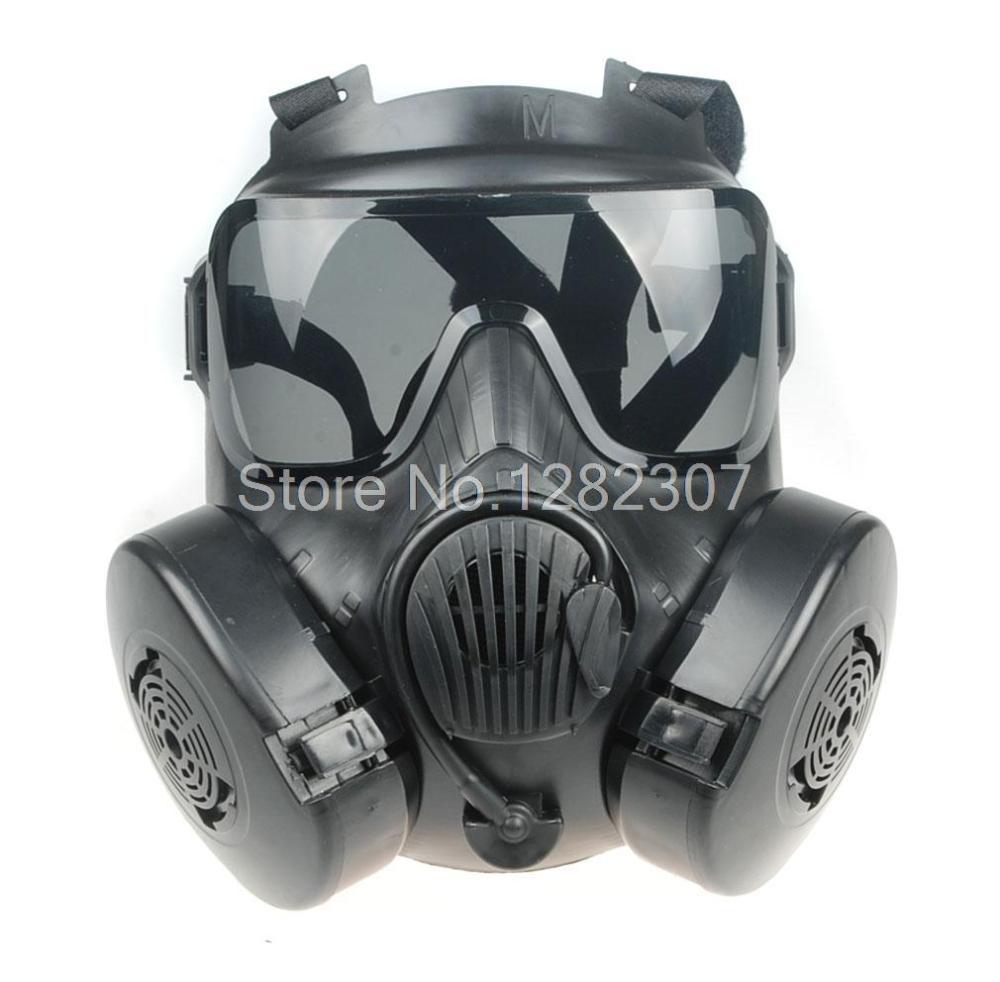 Gas Mask Paintball Mask Gas Mask M50 Black-34154
