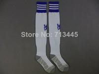 New Season Chelsea HOME White Sock 2014-15,Chelsea Stockings.Embroidery Logo.LAMPARD OSCAR TORRES HAZARD WILLIAN TERRY  ETO'O