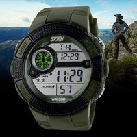 Original Skmei Brand Classic Outdoor Sports Luminous 50m Waterproof Digital Watches Men