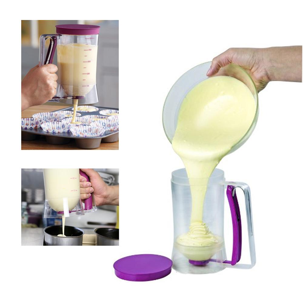 Speelgoed Keuken Accessoires Plastic : Pancake Cupcake Batter Dispenser