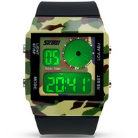 Skmei Brand Back Light Mens Military Watches Sport Watch LED Digital Camouflag Watch Water Resistant 30m