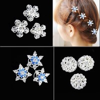 2014 Rushed Crown Frozen Snow Cosplay Clips Romance Headdress Hair Spiral Folder Super Flash Diamond Tiara Accessories Children