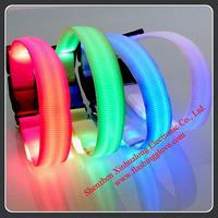 Waterproof Nylon LED Flashing Dog Collars