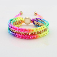 Multilayer Handmade Friendship Bracelet Bangles For Women Jewelry JBN-6020 Free Shipping